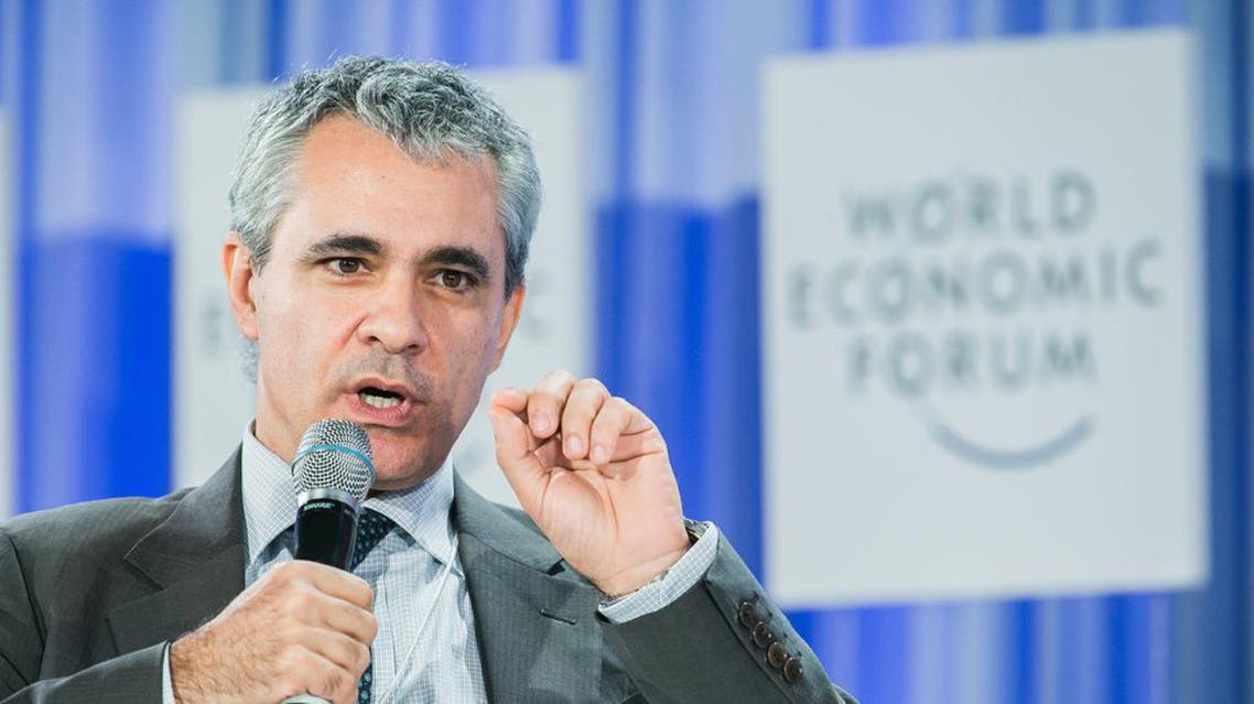 The OECD's Stefano Scarpetta said unemployment was feeding 'a lack of trust' in global governments. (Picture courtesy: World Economic Forum)