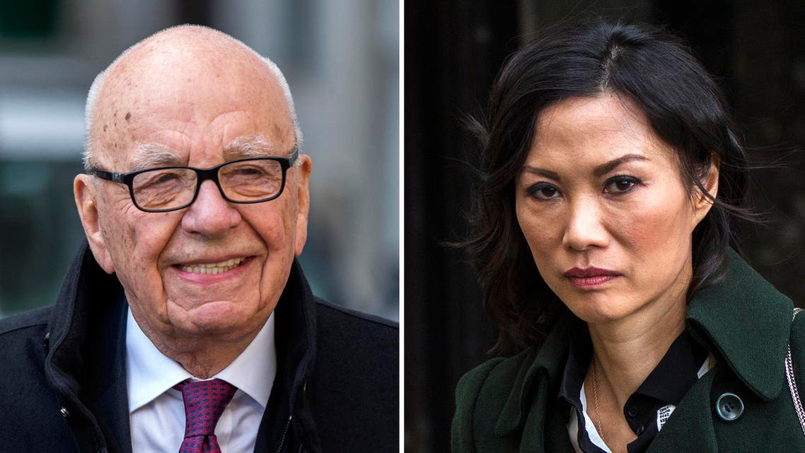 """Media baron Rupert Murdoch and his soon-to-be-ex-wife said they were parting with """"mutual respect"""". (File photo: Reuters)"""