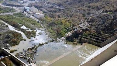 غرق شاب سعودي حاول التقاط صور لسد مياه بواسطة هاتفه