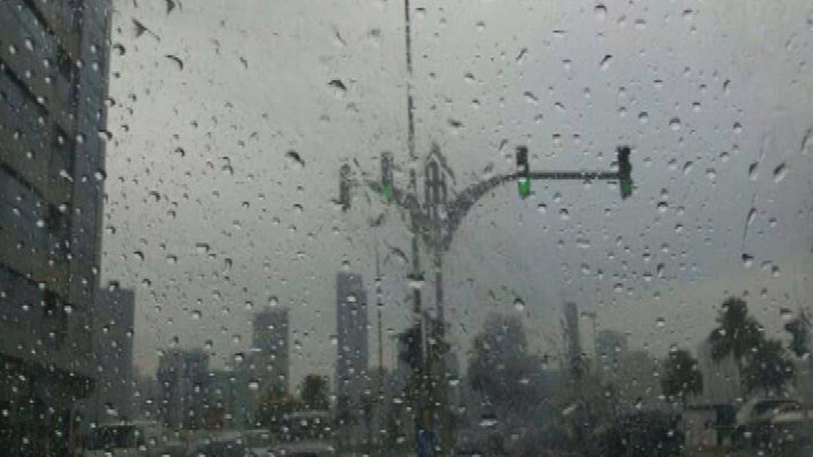 THUMBNAIL_ الخليج.. أمطار غزيرة في السعودية والكويت والإمارات