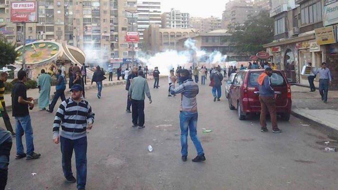 اشتباكات بالقاهرة