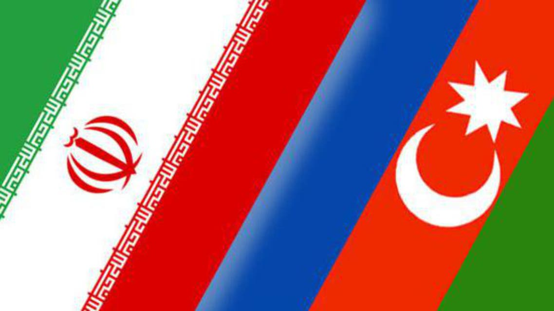 علم إيران وأذربيجان