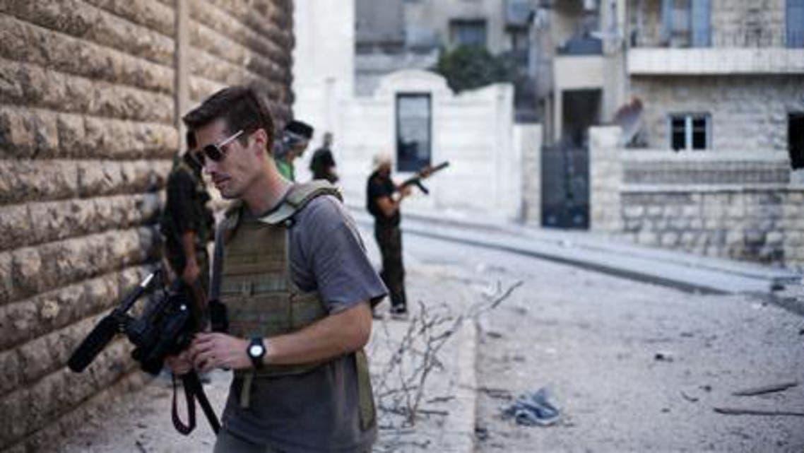 U.S. journalist James Foley reuters