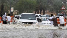 Heavy rainfall lashes Gulf region