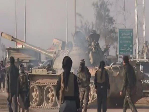 المعارضة تسيطر على أكبر حقل نفطي شرق سوريا