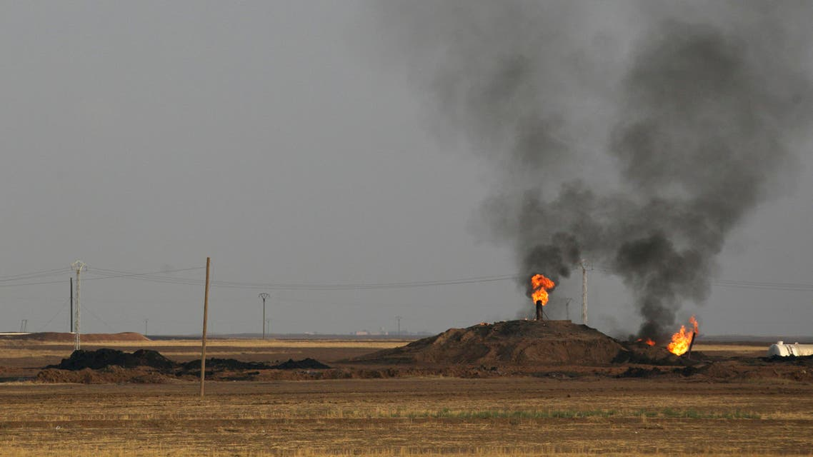 syria oil field reuters