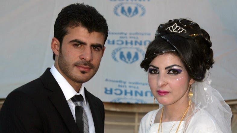 A Syrian-Kurdish refugee wedding - Al Arabiya English