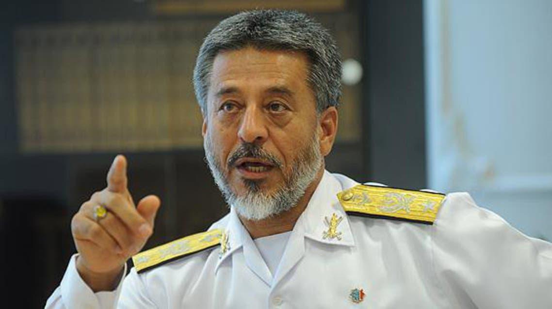 قائد القوة البحرية للجيش الإيراني الأدميرال حبيب الله سياري