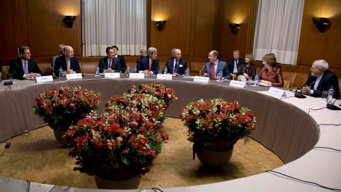 إجتماع جنيف حول النووي الايراني