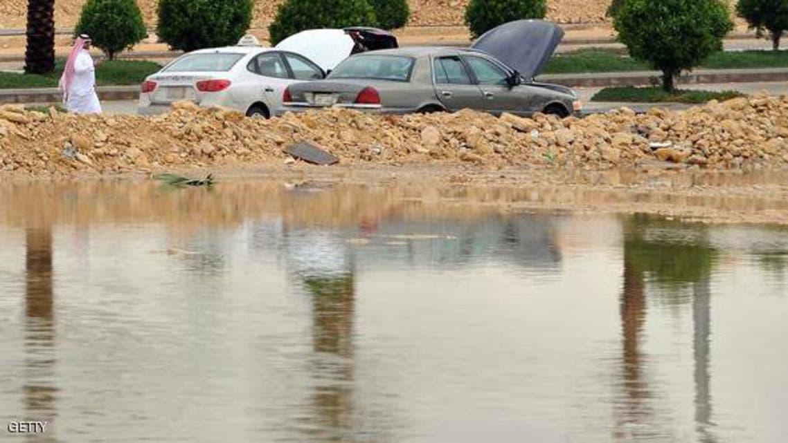 سيول وأمطار في السعودية