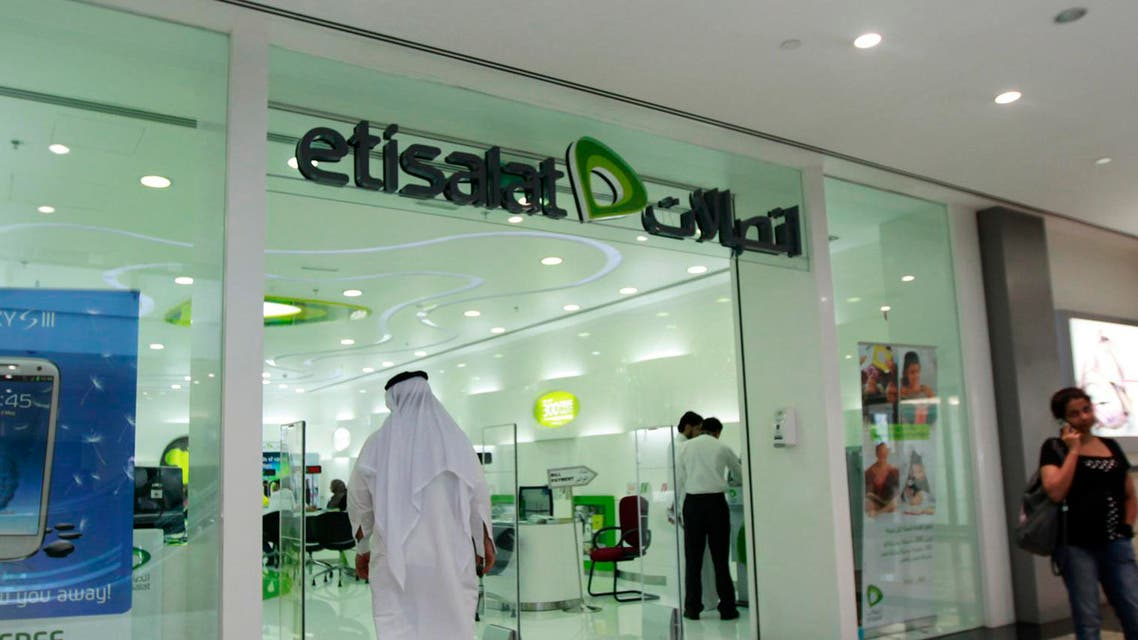 The Abu Dhabi-based Etisalat lost its domestic monopoly in 2007 with the arrival of du. (File photo: Reuters)