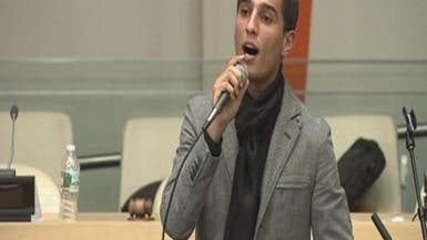 محمد عساف يغني للقضية الفلسطينية في باحة الأمم المتحدة