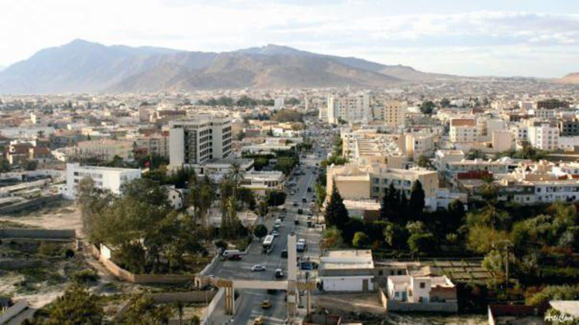 منظر عام لمدينة قفصة
