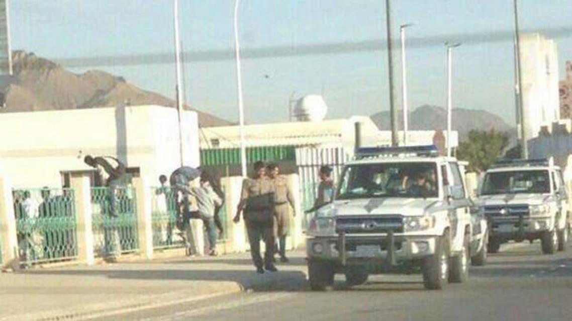 محاولة هرب أثيوبيين مخالفين في المدينة المنورة