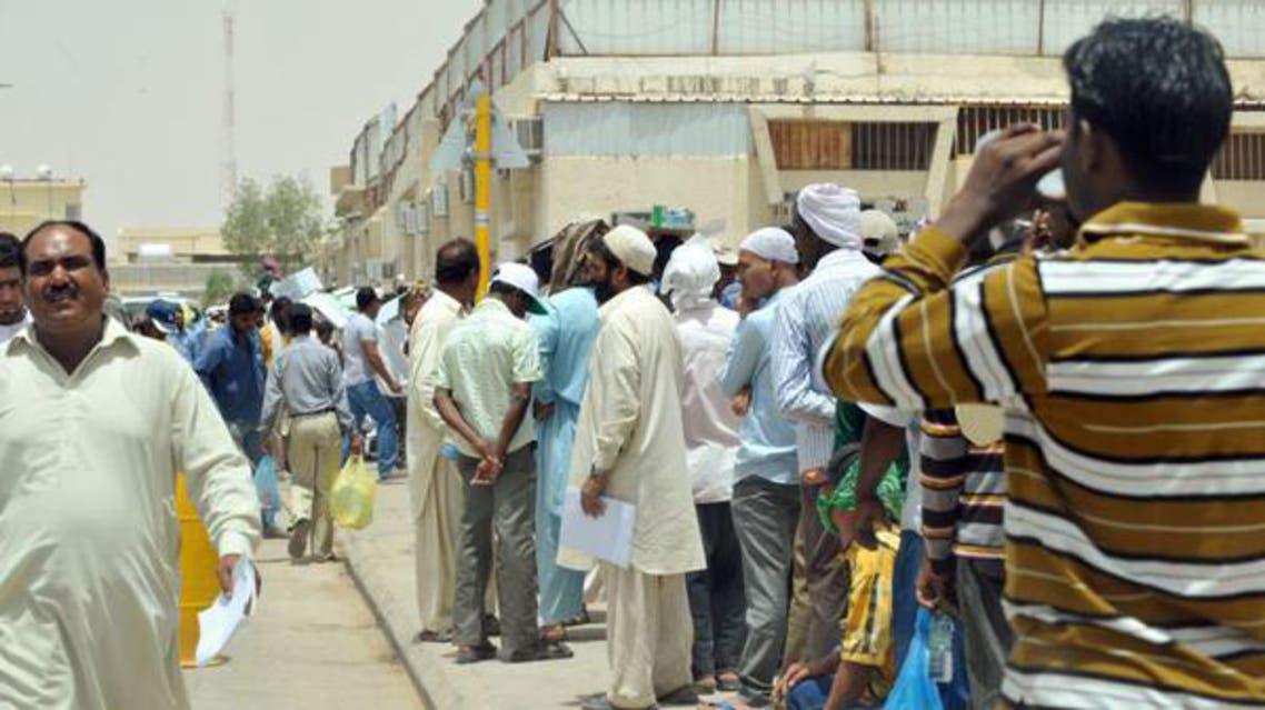 عمالة مخالفة في السعودية