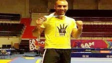 Egyptian Kung Fu champion defiant over display of 'Rabaa' symbol