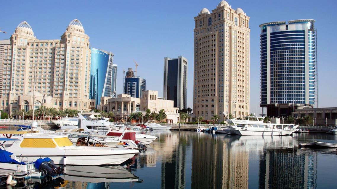 qatar skyline shutterstock