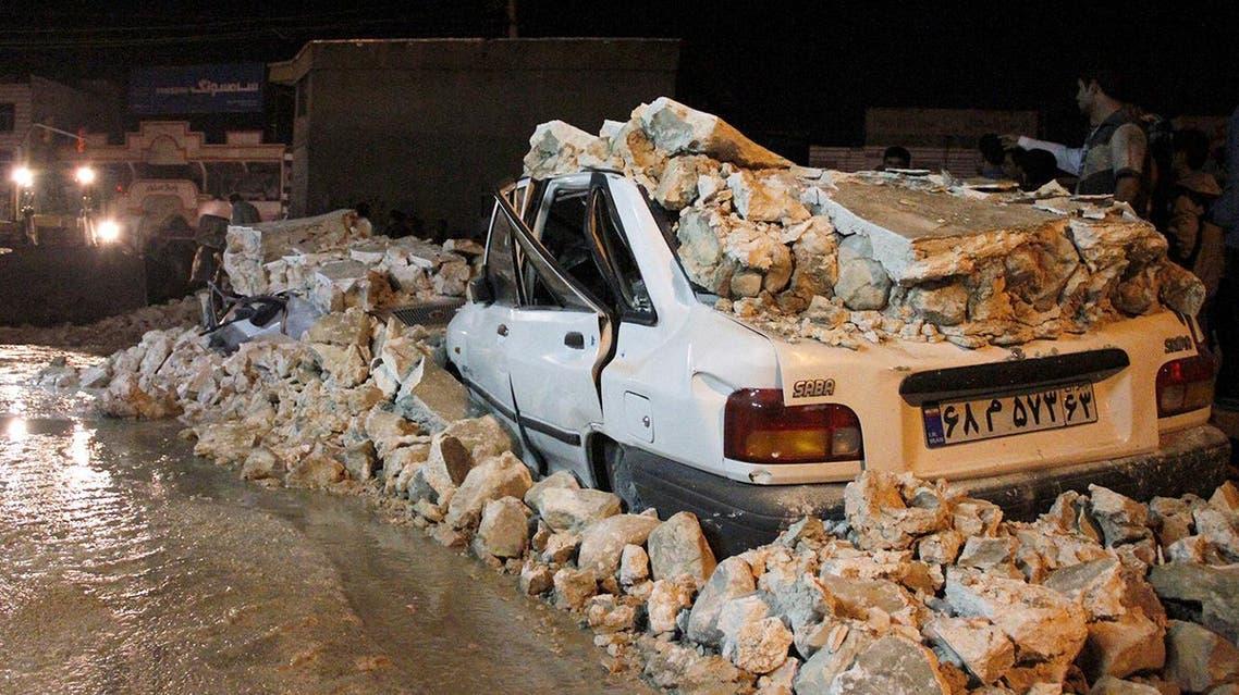 زلزال إيران 28-11-2013