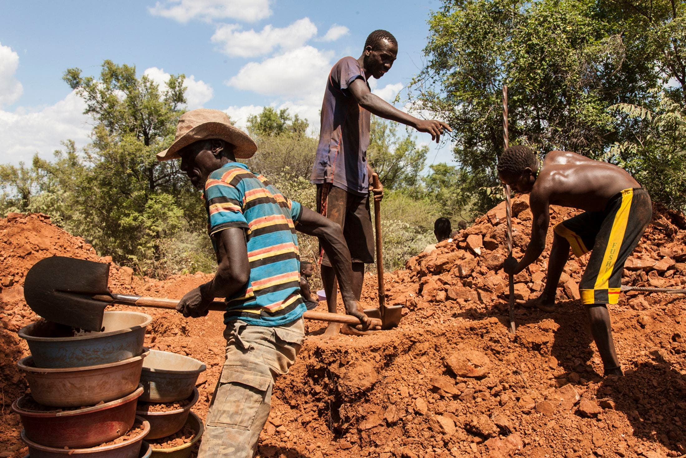 Image result for Gold Mining  in south sudan