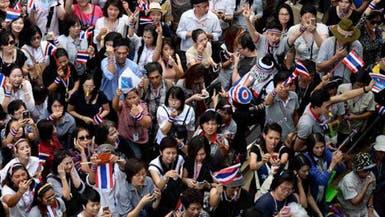 محتجون مناهضون للحكومة يقتحمون مقر الجيش التايلاندي