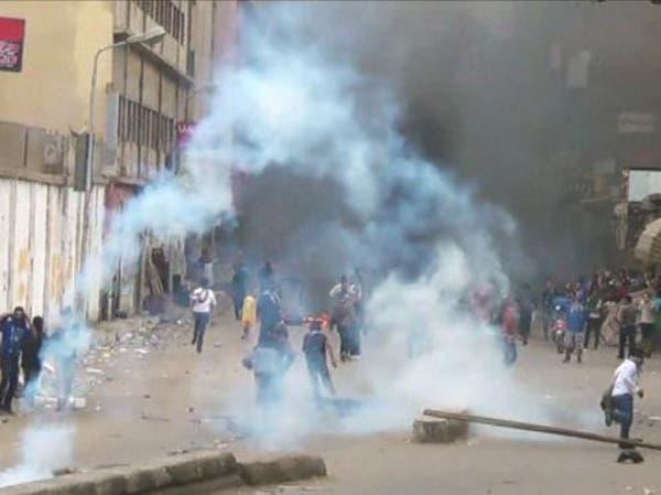 الصحة المصرية: 10 إصابات في اشتباكات الأمن مع الإخوان