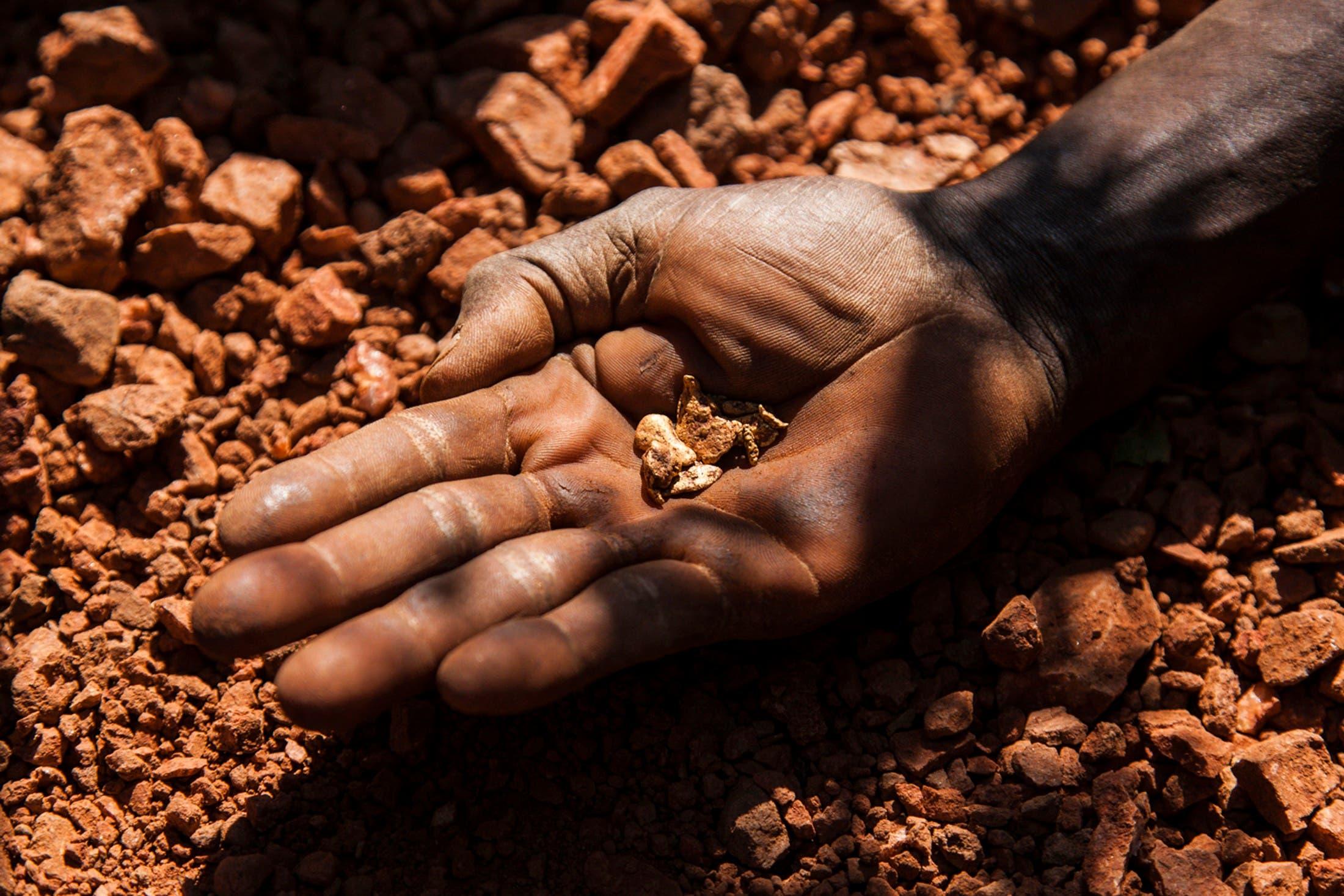 Gold mining in Sudan