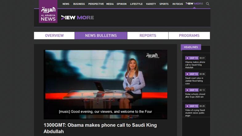 Al Arabiya site to launch English subtitle service for