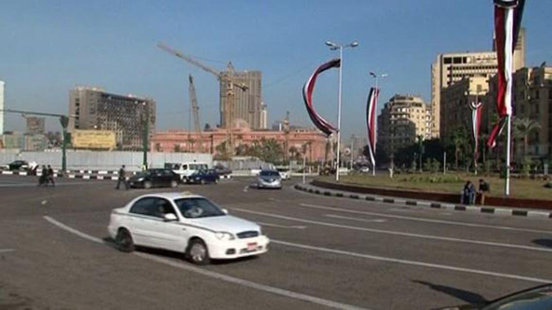 حركة المرور تعود إلى طبيعتها في ميدان التحرير