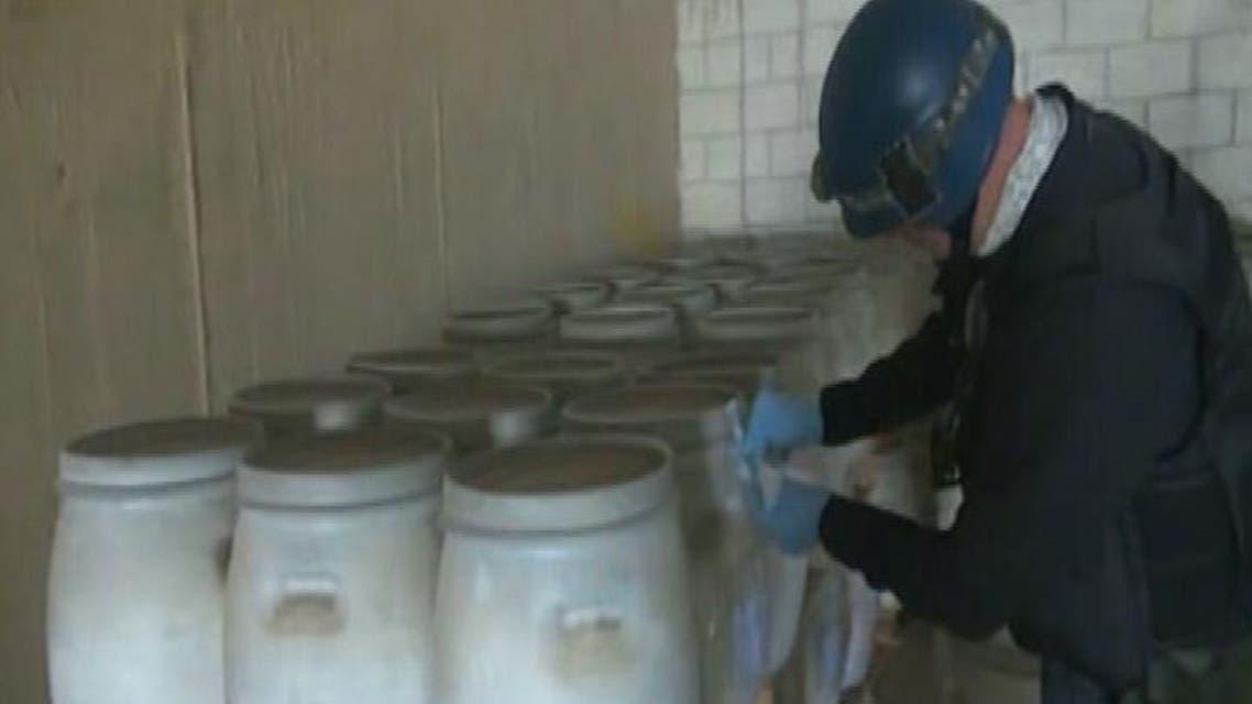 THUMBNAIL_ واشنطن تعرض تدمير كيمياوي سوريا في عرض البحر