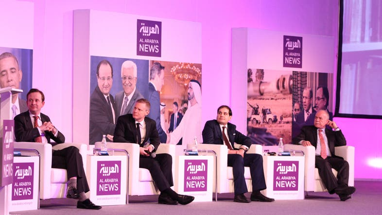 Experts gather at the first Al Arabiya News Global Discussion