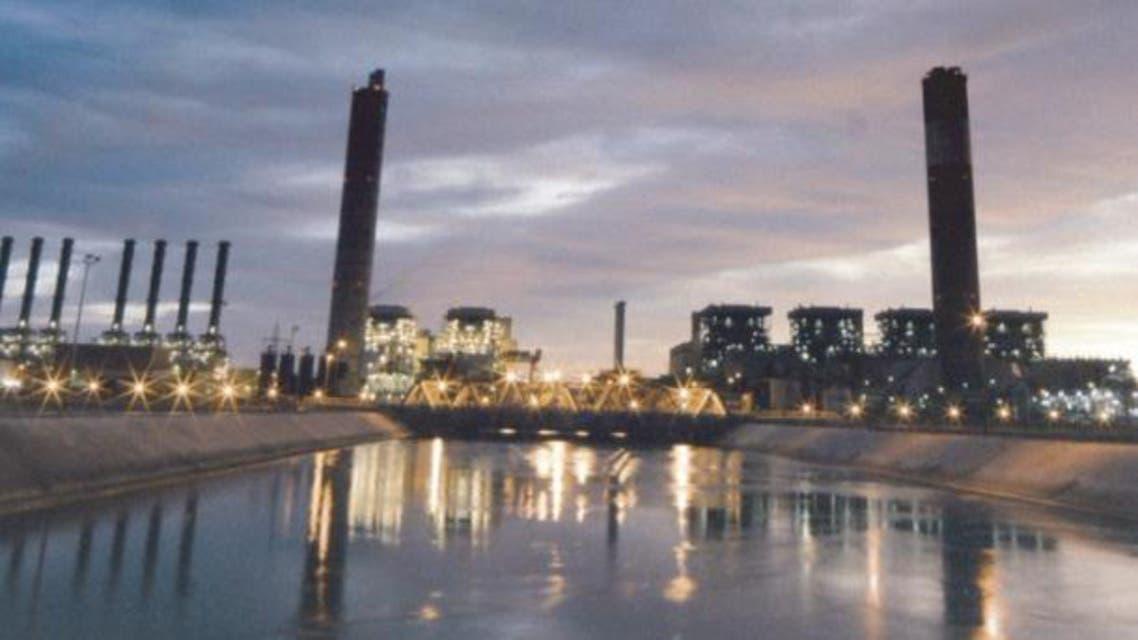 محطة كهرباء في رابغ