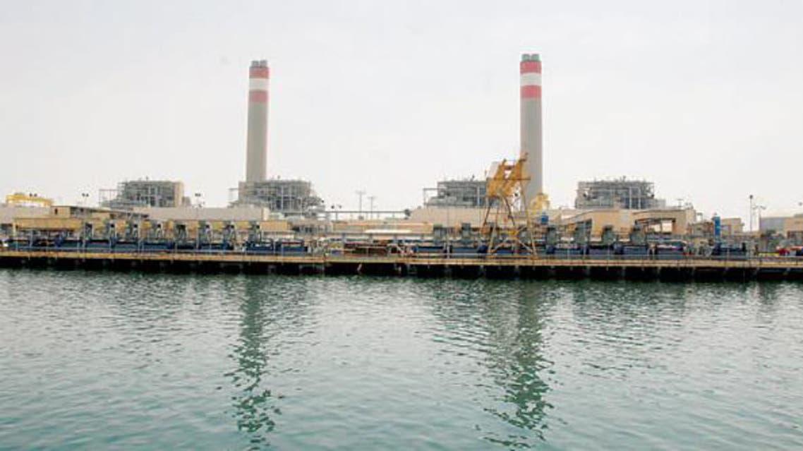 محطة كهرباء بالسعودية