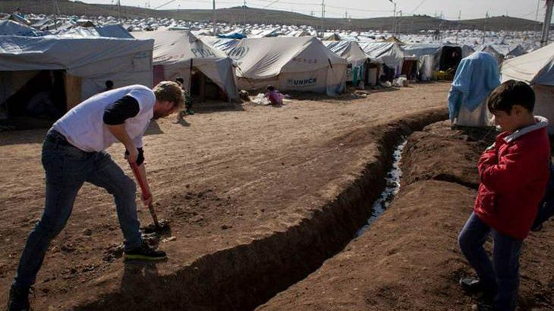 Winter looms for Syrian refugees in Iraq