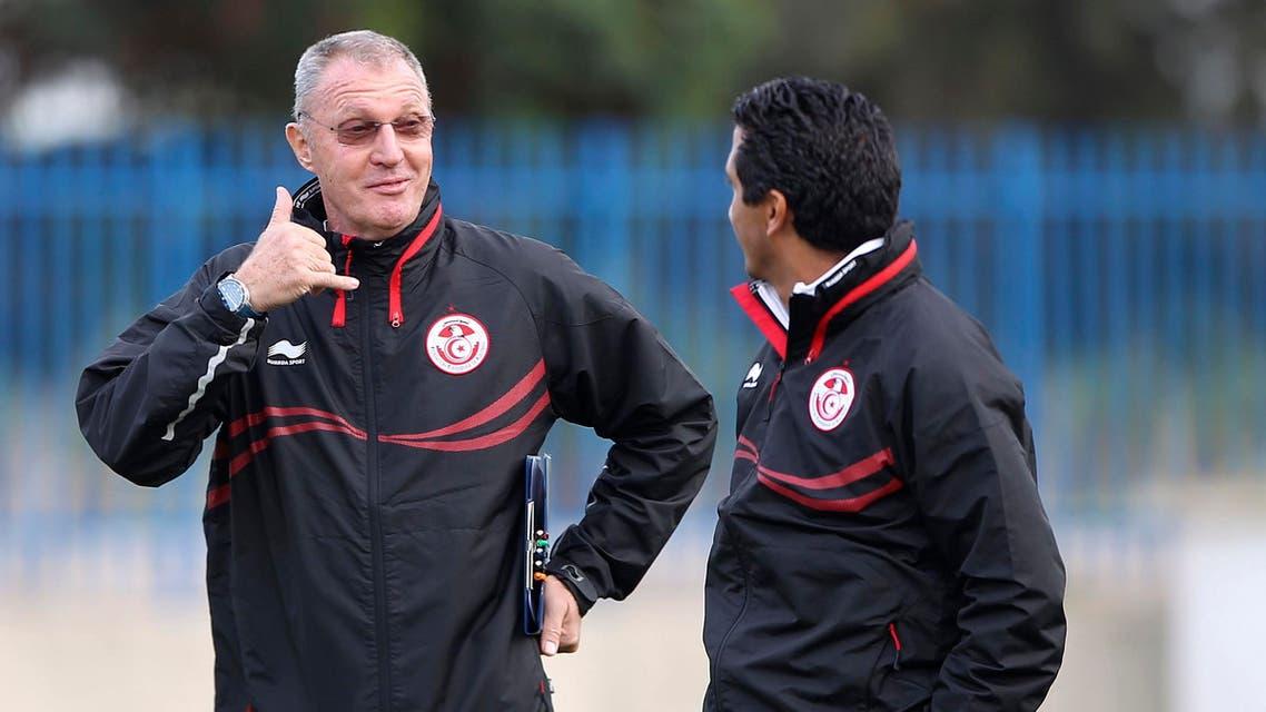 Reuters tunisia coach foot