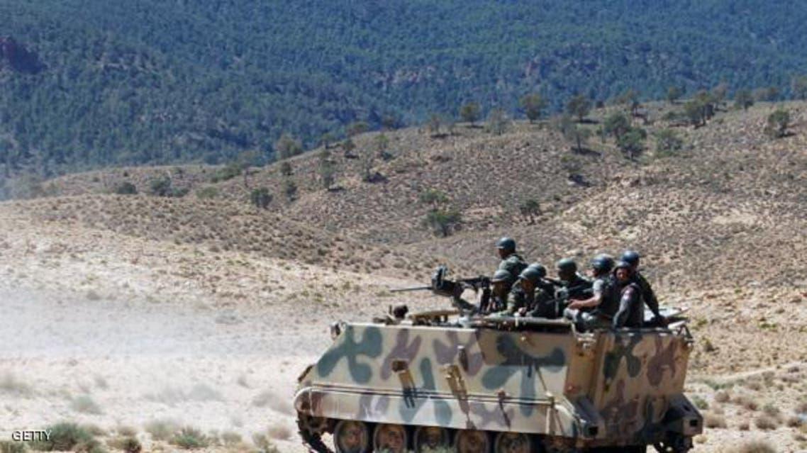 من عمليات الجيش التونسي في المناطق الجبلية الغربية