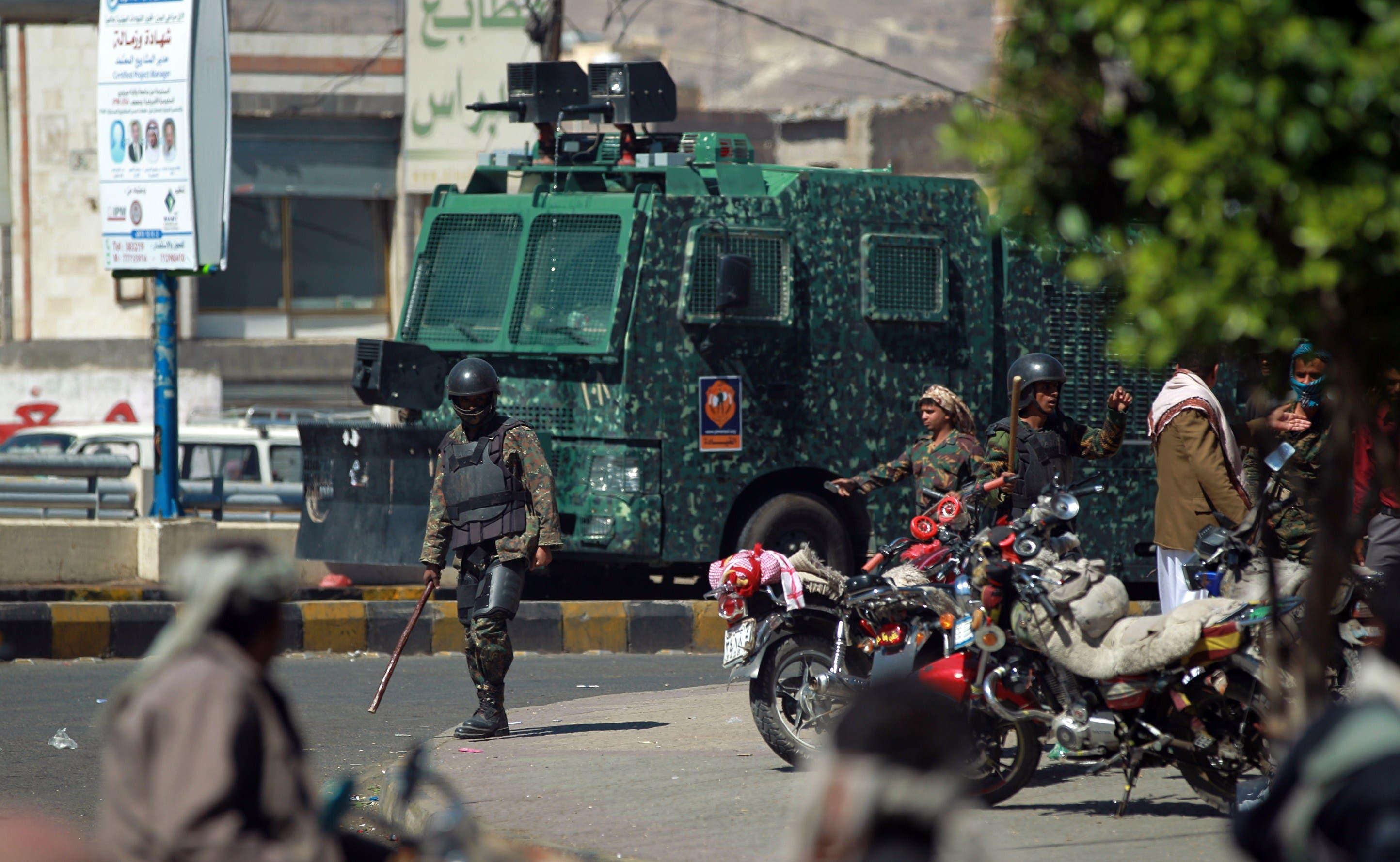 Banning motorbikes in Sana'a