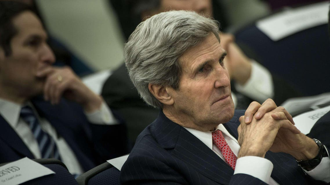 Kerry will head straight into meetings with NATO foreign ministers when he lands in Brussels early Tuesday. AFP
