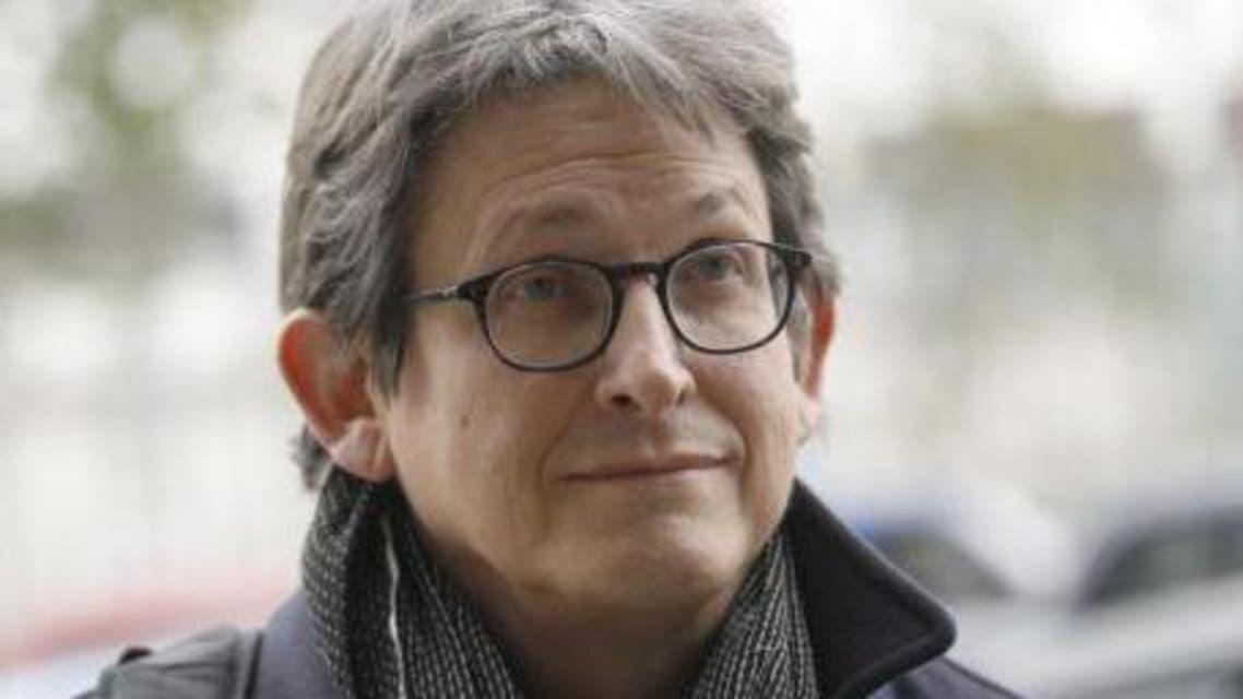 he editor of The Guardian Alan Rusbridger arrives at Portcullis House in London Dec. 3, 2013. (Reuters)