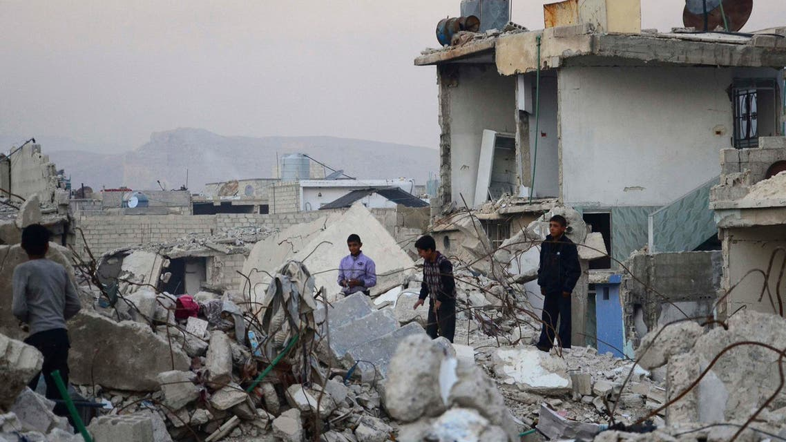الدمار في سوريا
