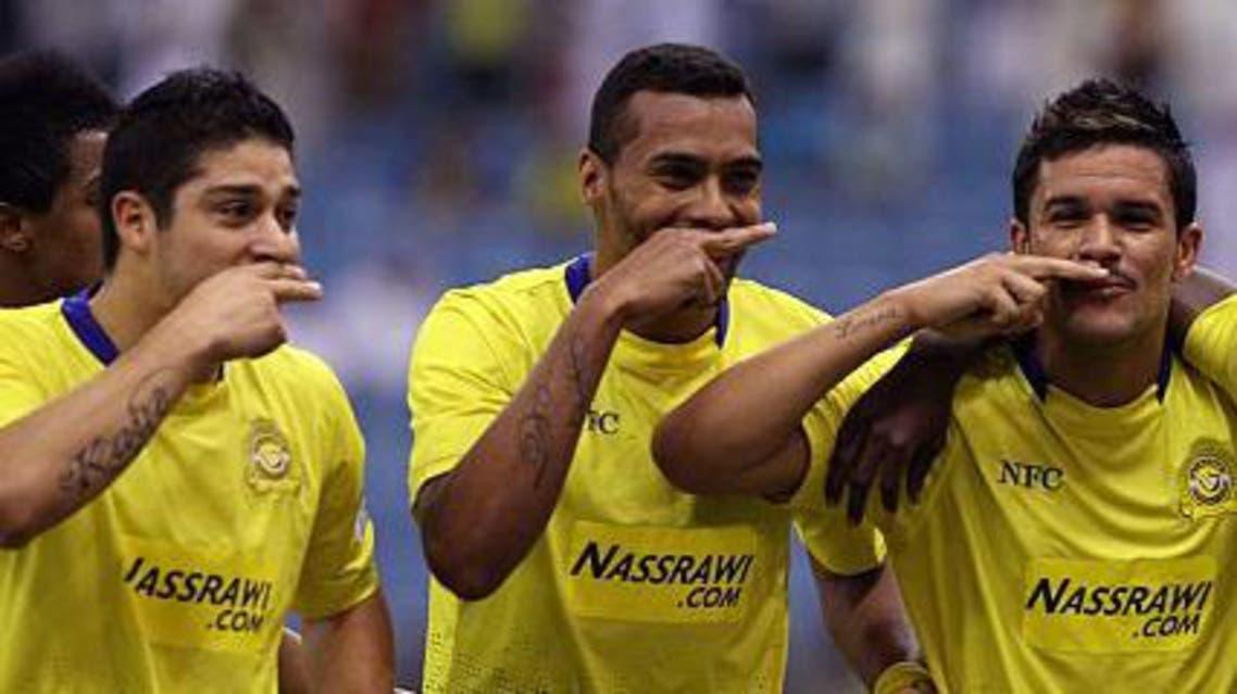 ثلاثي النصر البرازيلي باستوس وإيلتون وإيفرتون