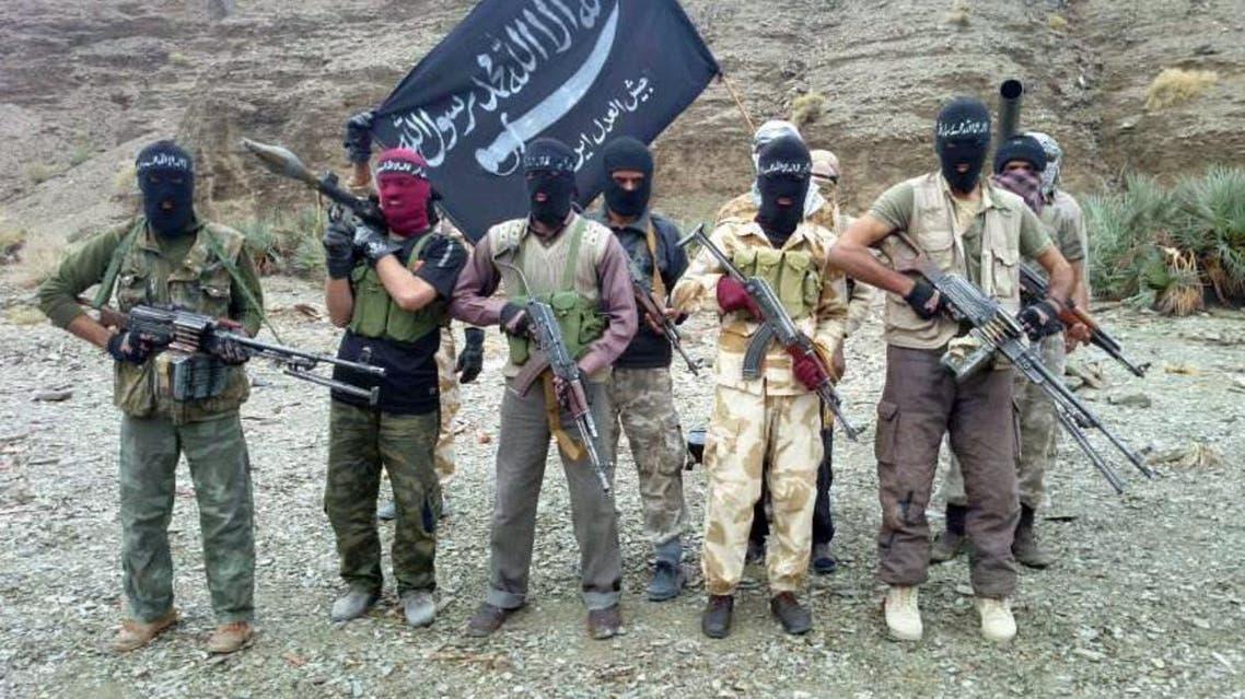 مسلحون يتبعون جيش العدل البلوشي الإيراني