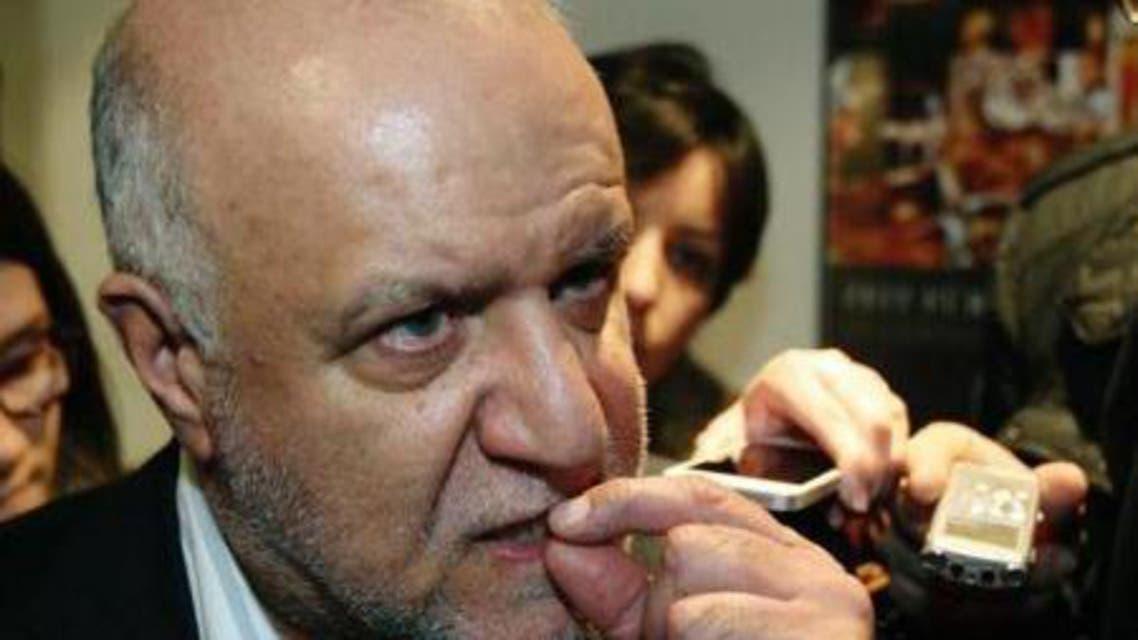 وزير النفط الايراني بيجن زنغنة