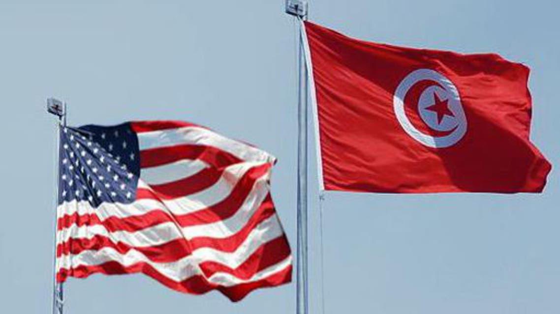 العلم الأمركي والعالم التونسي