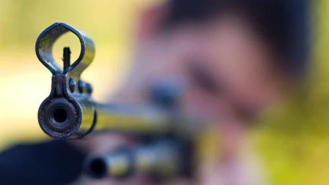 القتل رصاص المسدس