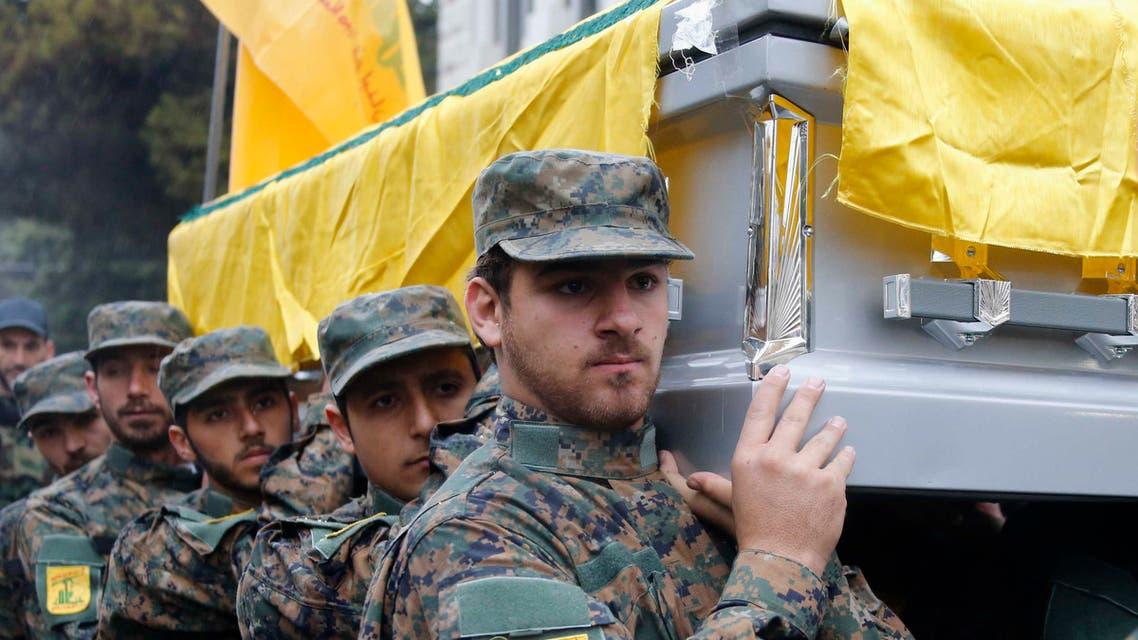 جنازة حزب الله تشييع