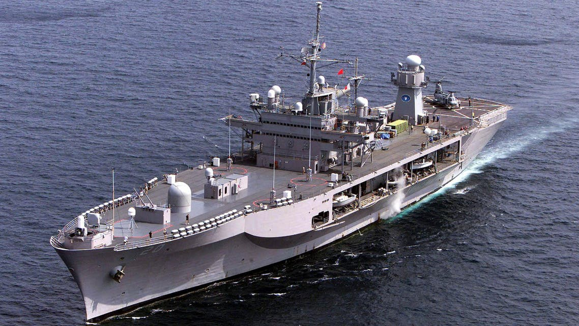 USS Mout Whitney hunts down extremists operating in the Horn of Africa comprised of Djibouti, Ethiopia, Eritrea, Kenya, Yemen, Sudan and Somalia. (Reuters)