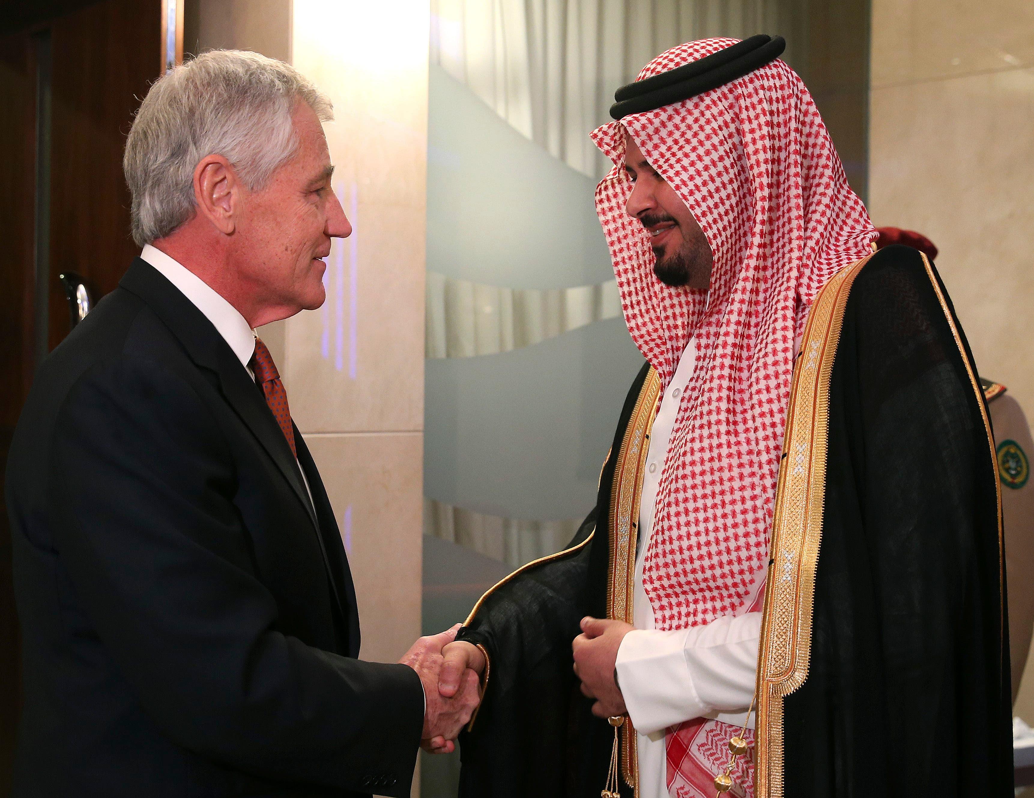 hagel- Saudi (Reuters)