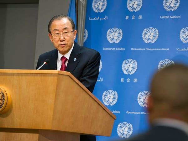 أمين عام الأمم المتحدة يزور بغداد لبحث أزمة الأنبار