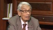 بطرس غالي: مصر تحتاج 5 سنوات لإصلاح ما أفسده مرسي