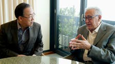 Ban Ki-moon to discuss Syria peace conference with Brahimi
